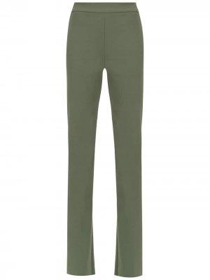 Flared trousers Gloria Coelho. Цвет: зеленый