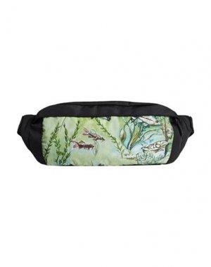 Рюкзаки и сумки на пояс DUNHILL. Цвет: светло-зеленый
