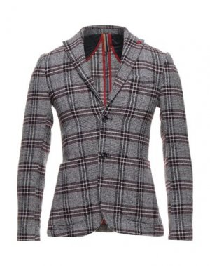 Пиджак HAMAKI-HO. Цвет: красно-коричневый