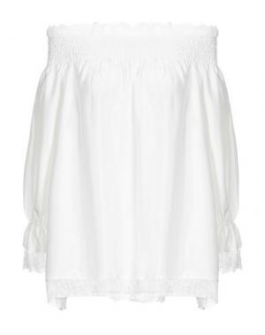 Блузка ALPHA STUDIO. Цвет: белый