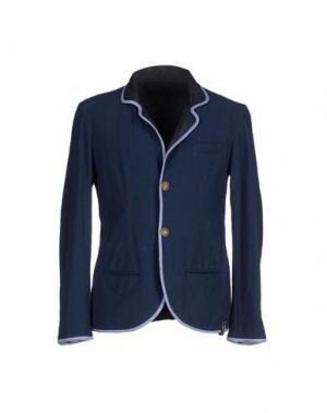 Пиджак BARK. Цвет: синий