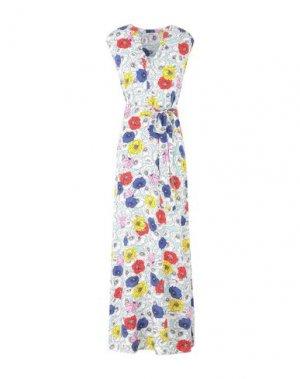 Длинное платье GARCIA. Цвет: белый