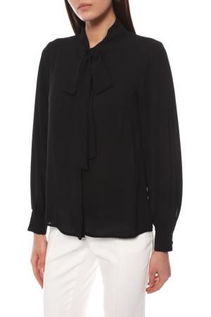 Блузка Disetta. Цвет: черный