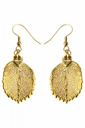 Серьги Ester Bijoux. Цвет: золотой