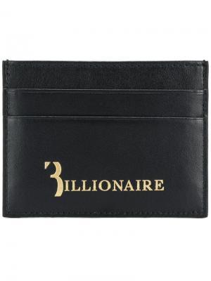 Визитница с логотипом Billionaire