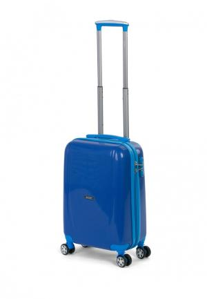 Чемодан Baudet 33 л (XS). Цвет: синий