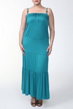 Сарафан Giani Forte. Цвет: голубой