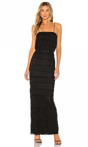 Платье josiah Tularosa. Цвет: черный