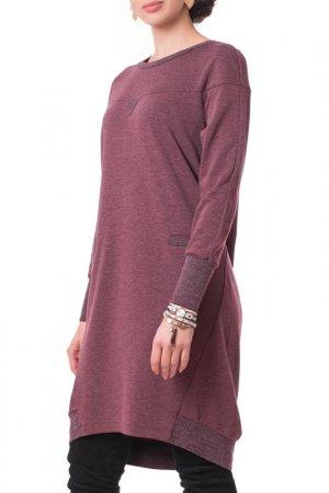 Платье Argent. Цвет: вишневый