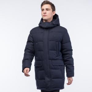 Куртка Пуховик Lacoste. Цвет: темно-синий