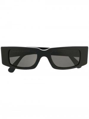Солнцезащитные очки Super Sunnei. Цвет: черный