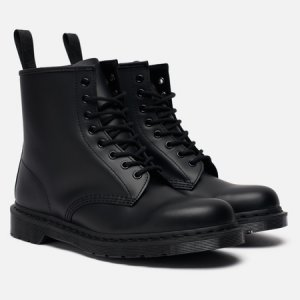 Мужские ботинки 1460 Mono Smooth Dr. Martens. Цвет: чёрный