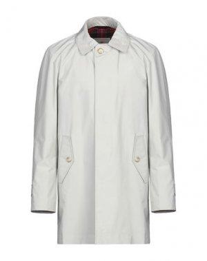 Легкое пальто BARACUTA. Цвет: светло-серый
