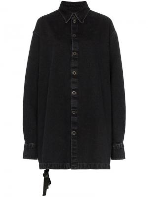 Джинсовая куртка кроя оверсайз Unravel Project