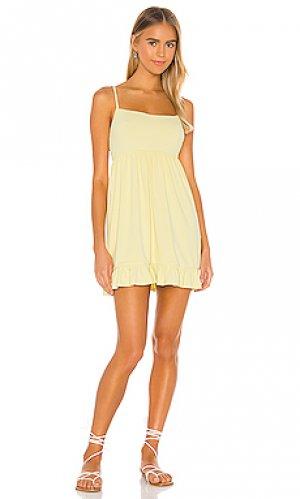 Платье davis Privacy Please. Цвет: желтый