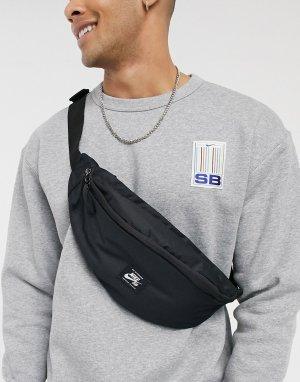 Черная сумка-кошелек на пояс Heritage-Черный цвет Nike SB