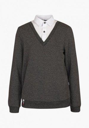 Пуловер Nota Bene. Цвет: серый