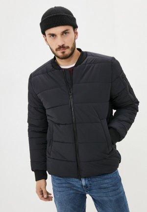 Куртка утепленная Urban Tiger. Цвет: черный