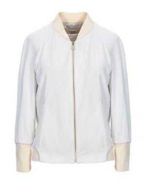 Куртка JASMINE DI MILO. Цвет: бежевый