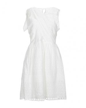 Короткое платье BRIGITTE BARDOT. Цвет: белый