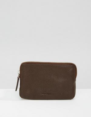 Коричневый кошелек для монет Fuze Royal RepubliQ. Цвет: коричневый