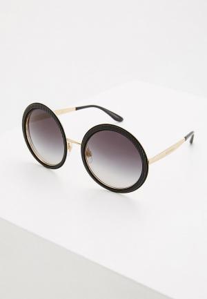Очки солнцезащитные Dolce&Gabbana DG2179 13128G. Цвет: черный