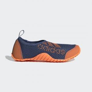 Коралловые тапочки Kurobe Performance adidas. Цвет: оранжевый