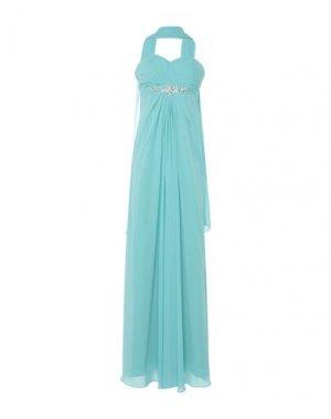 Длинное платье LE DAMIGELLE di MUSANI. Цвет: бирюзовый