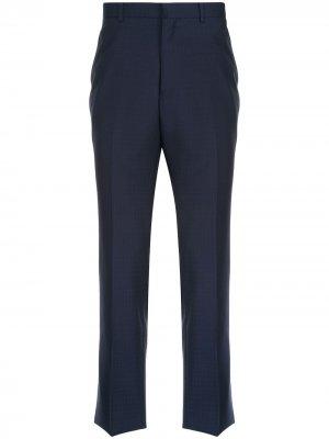 Durban костюмные брюки строгого кроя D'urban. Цвет: синий