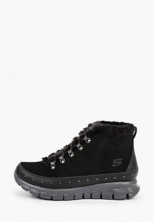 Ботинки Skechers SYNERGY. Цвет: черный