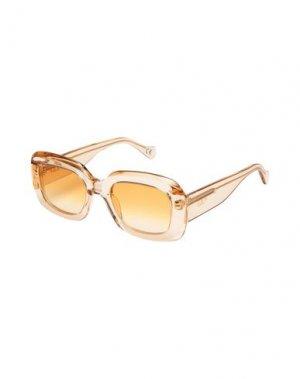 Солнечные очки RETROSUPERFUTURE. Цвет: прозрачный