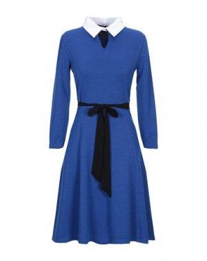 Короткое платье JANICE. Цвет: ярко-синий