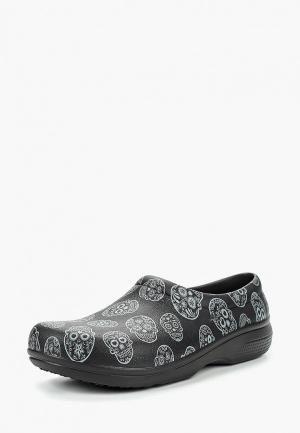 Галоши Crocs. Цвет: черный