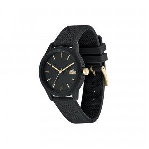 Часы L.12.12 Ladies Lacoste. Цвет: черный