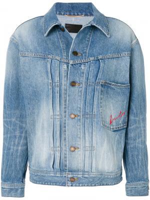 Джинсовая куртка LouLou Saint Laurent. Цвет: синий