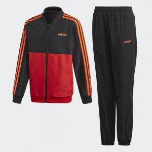 Спортивный костюм YB TS WOVEN Performance adidas. Цвет: черный