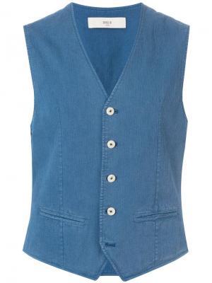 Классический жилет Briglia 1949. Цвет: синий