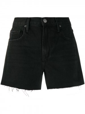 Джинсовые шорты Le Brigette FRAME. Цвет: черный