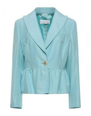 Пиджак VALENTINO. Цвет: небесно-голубой