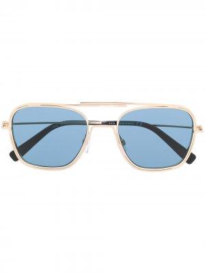 Солнцезащитные очки-авиаторы Dsquared2 Eyewear. Цвет: золотистый