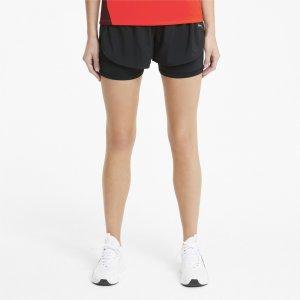 Шорты Favourite 2-in-1 3 Womens Running Shorts PUMA. Цвет: черный