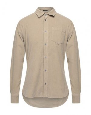 Pубашка DENHAM. Цвет: бежевый