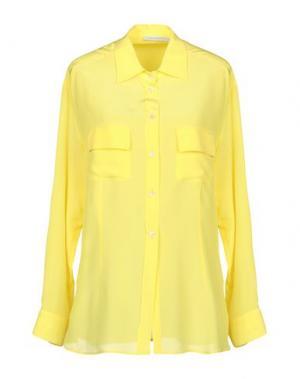 Pубашка GIO' MORETTI. Цвет: желтый