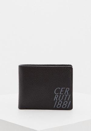 Кошелек Cerruti 1881 SHEERAN. Цвет: черный