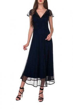 Платье Arefeva. Цвет: черный, темно-синий