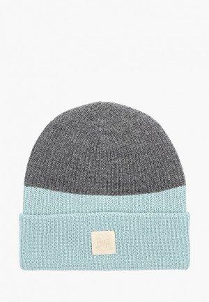 Шапка Buff Knitted Hat Yulia. Цвет: голубой