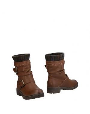 Полусапоги и высокие ботинки COOLWAY. Цвет: коричневый