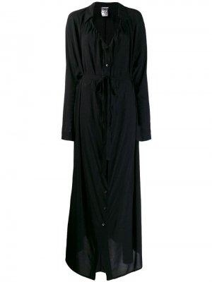 Платье-рубашка макси Ann Demeulemeester