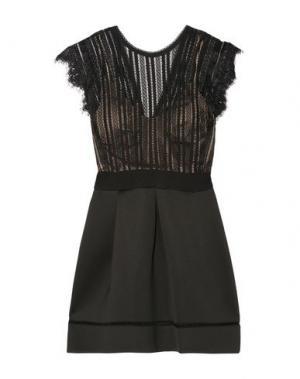 Короткое платье CATHERINE DEANE. Цвет: черный