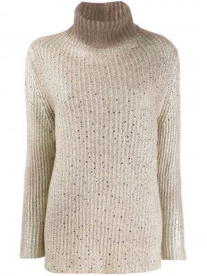 Пуловер с высоким воротником Avant Toi